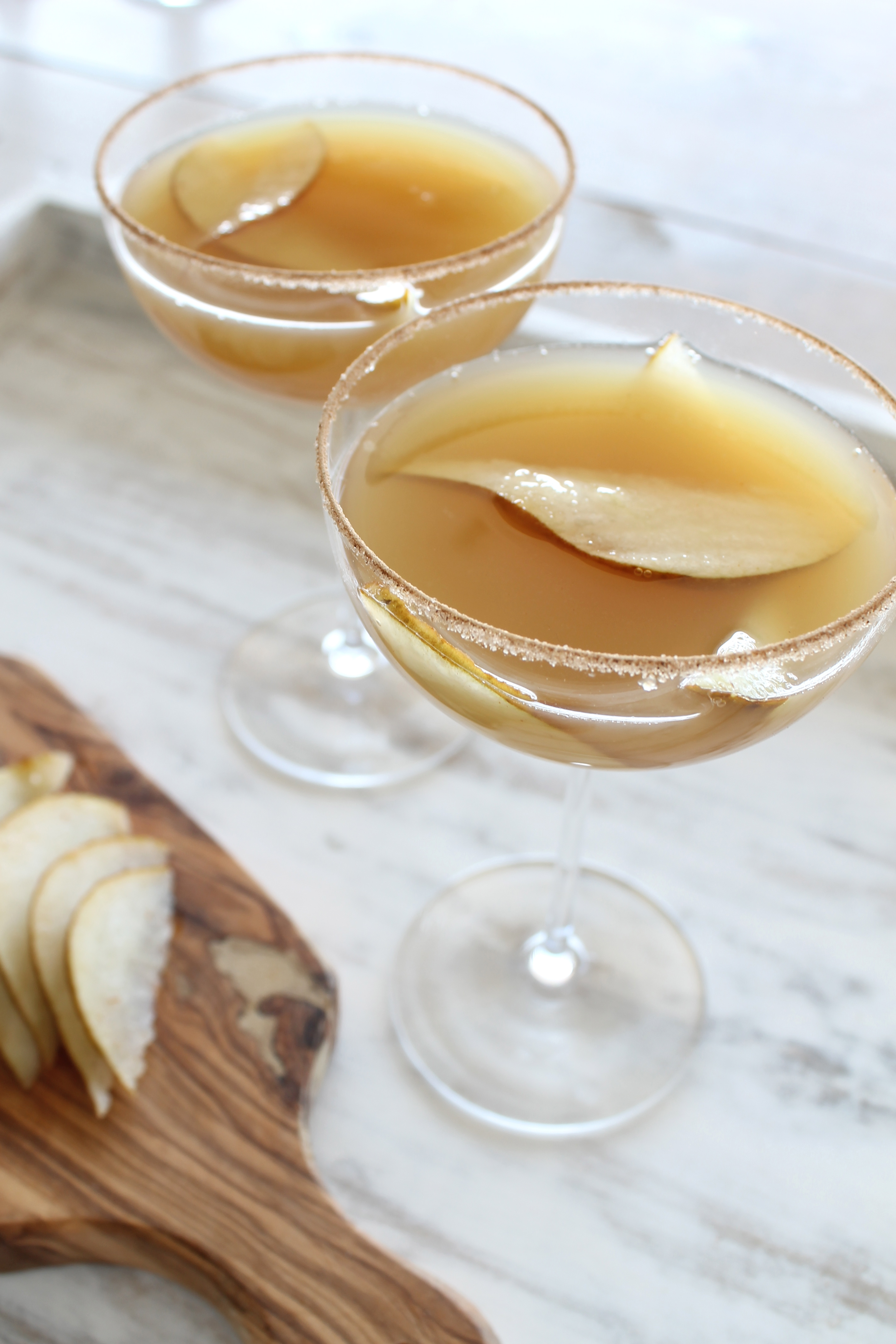 Pear and Sparkling Cider