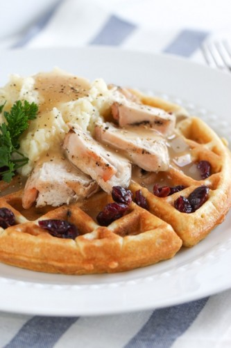 Thanksgiving Waffle