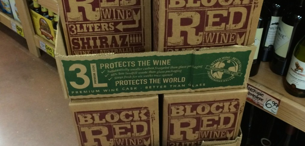 Trader Joe's Boxed Wine