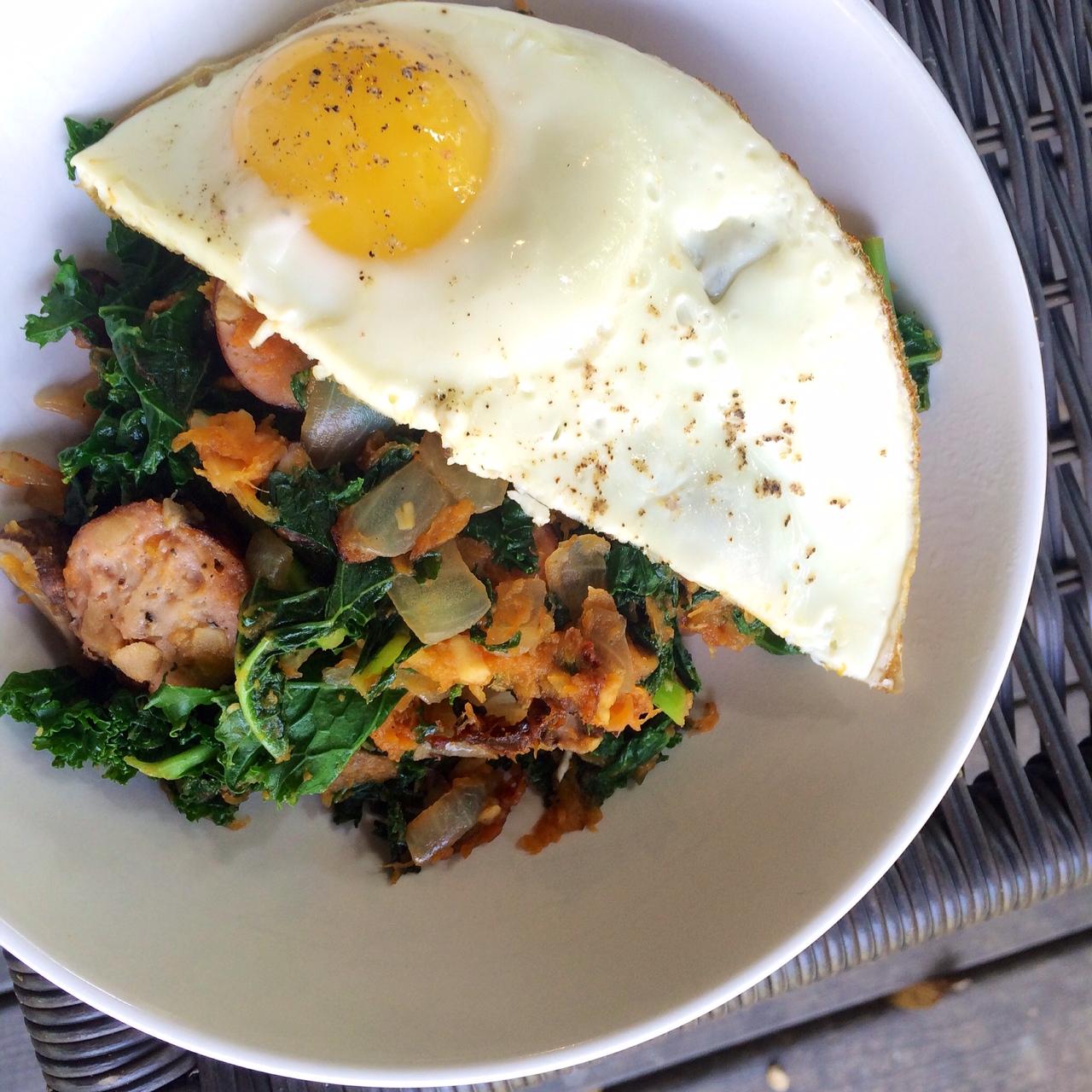 Smoky-Sweet Autumn Breakfast Hash