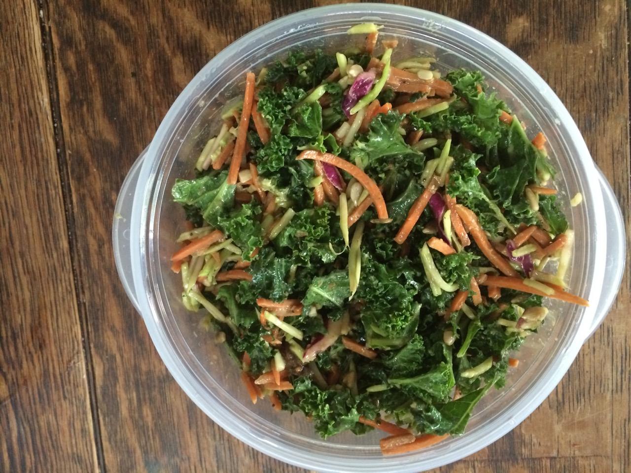 Red Kale Quinoa Salad