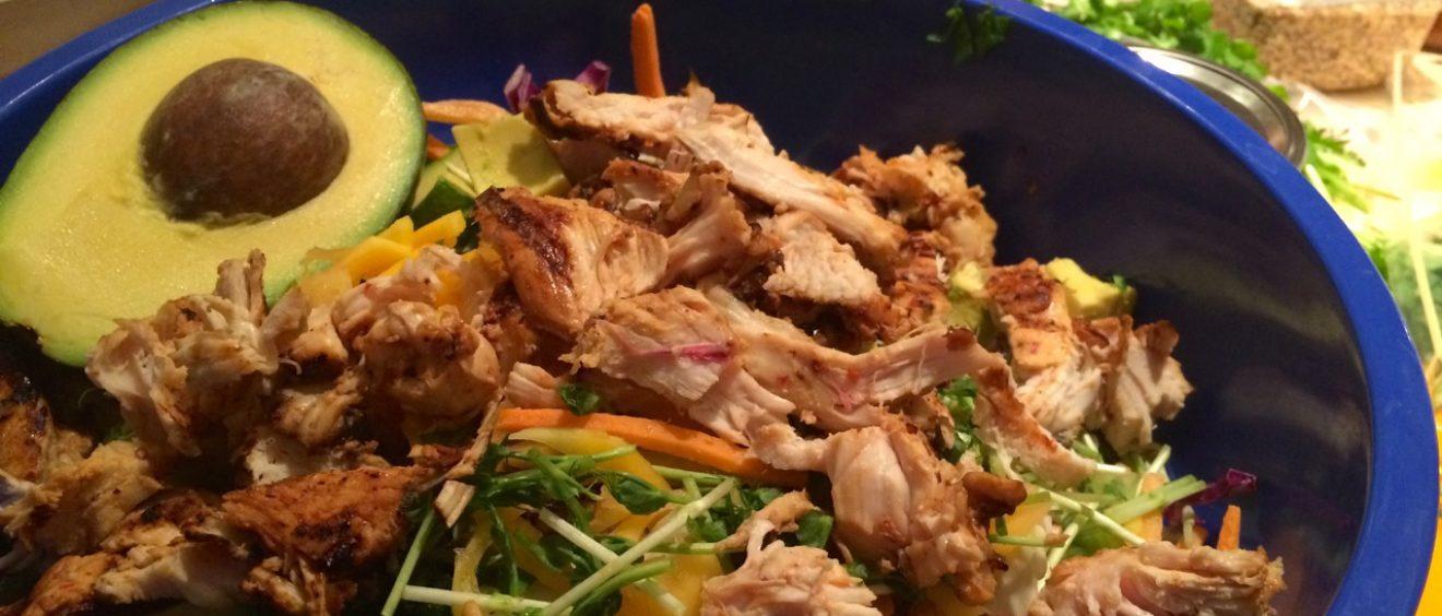 Thai Chicken Peanut Salad