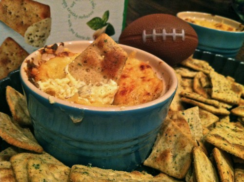 Baked Swiss and Garlic Dip