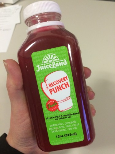Favorite Detox Tools- Recovery Punch