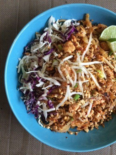 Pad Thai Homemade Vertical 2