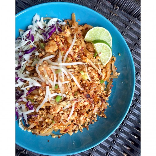 Pad Thai Homemade Vertical