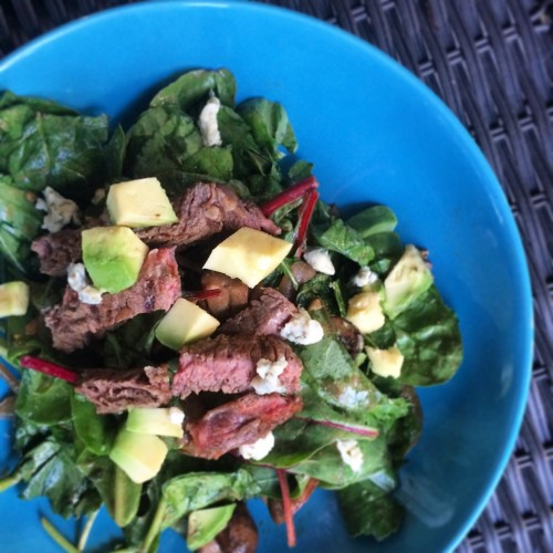 Summertime Steak Salad