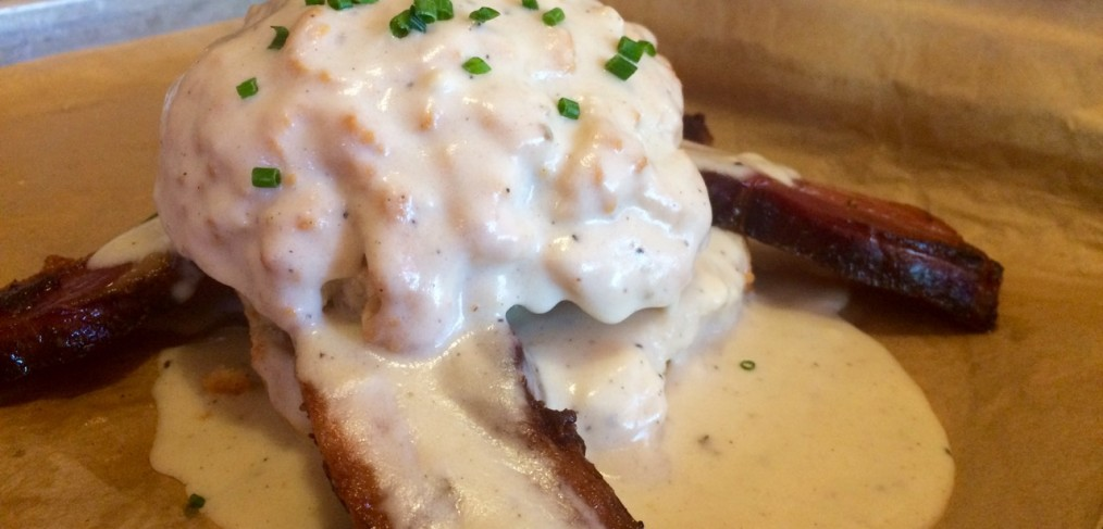 Bangers Biscuits and Gravy Austin