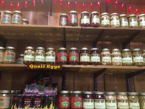 Rustlin Rob's Fredericksburg, TX sample jars