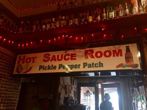 Rustlin Rob's Fredericksburg, TX Hot Sauce Room