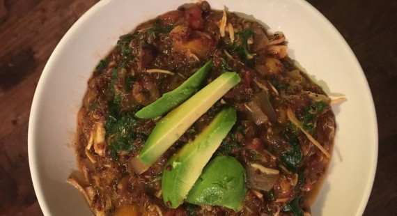 Red Quinoa Crock Pot Stew