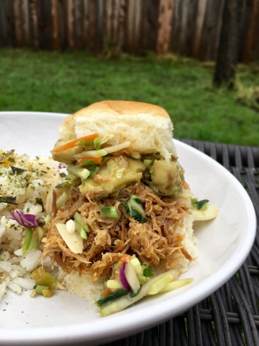 Red Curry Coconut Pulled Pork