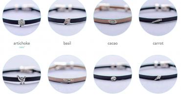 Delicacies epicurean bracelet charms