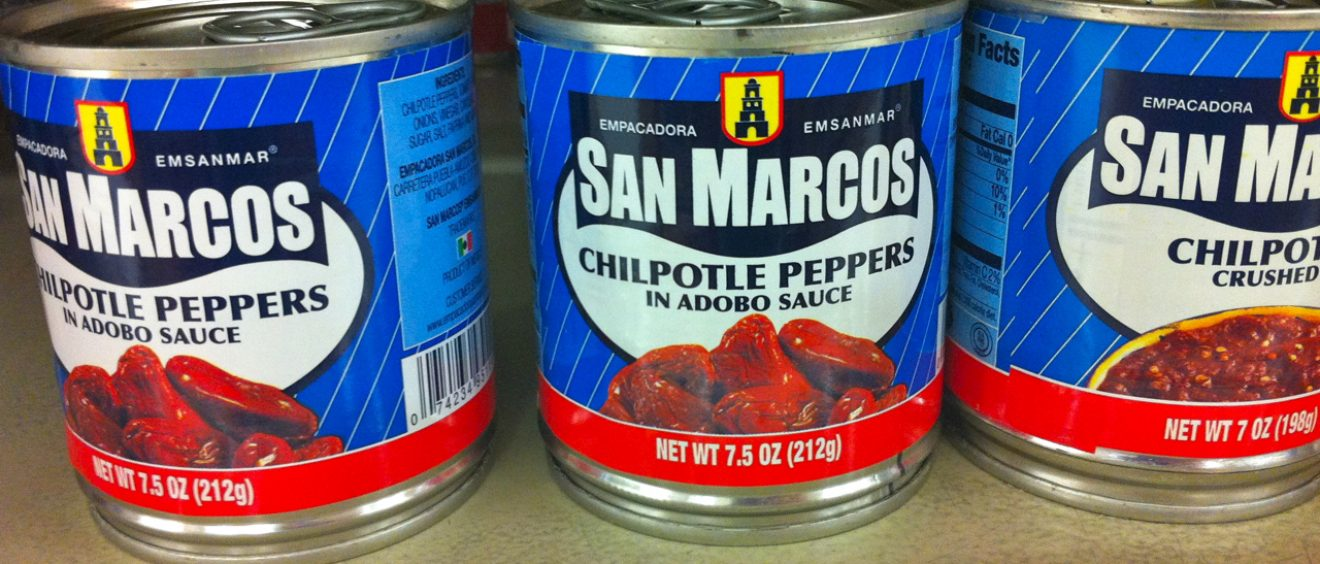 """""""Chilpotle"""" Canned Peppers"""