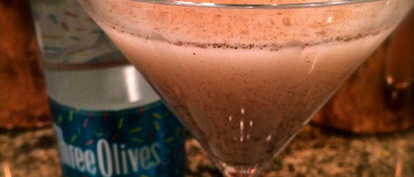Pumpkin Spice Cake Martini
