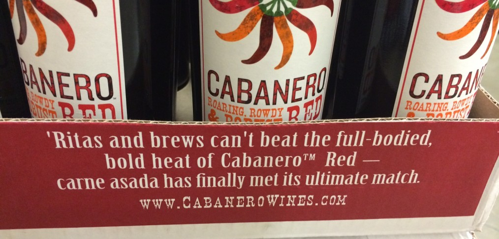 Cabanero Wine