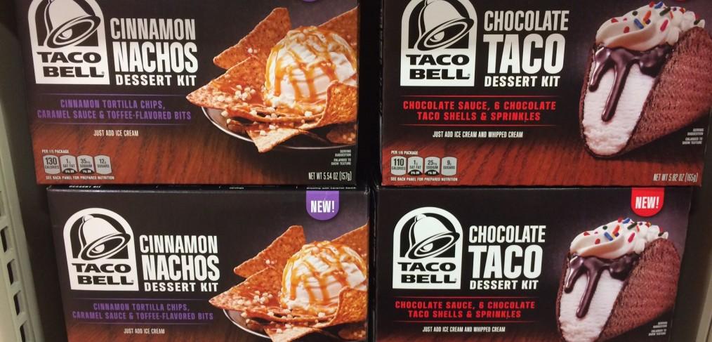 Taco Bell Dessert Package