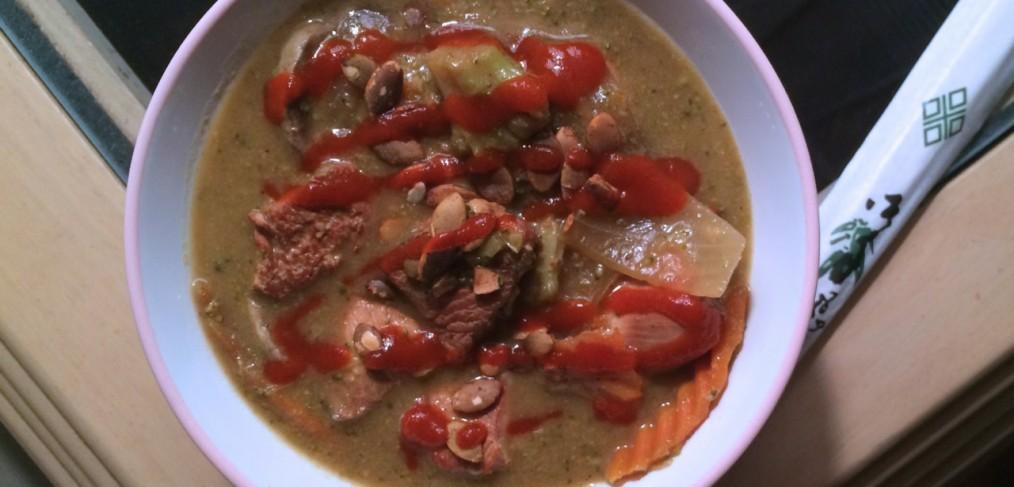 Homemade Green Curry Chicken