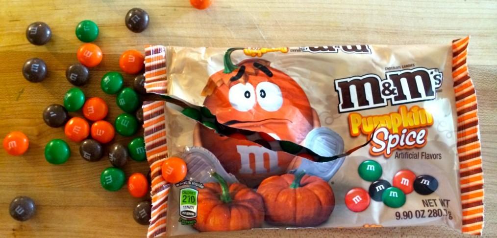 Pumpkin Spice M&Ms Flavor Taste Test