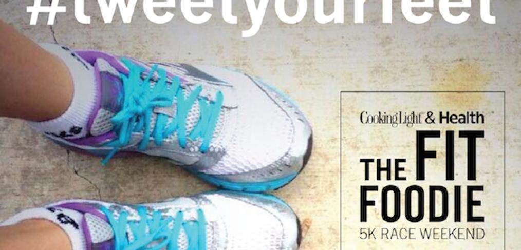Fit Foodie 5K Austin Tweet Your Feet