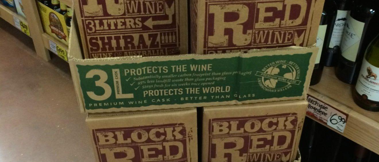 Trader Joe's Boxed Wine