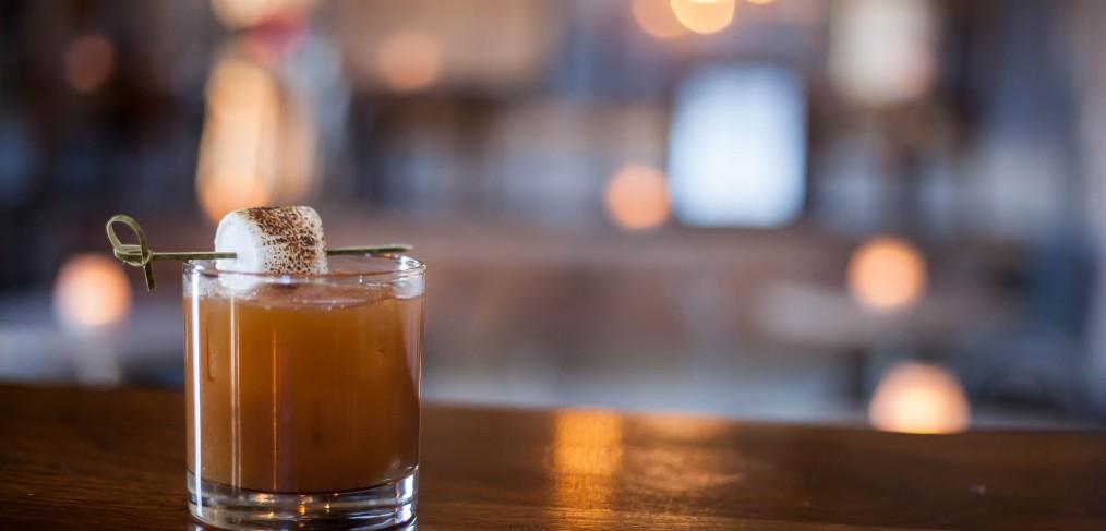 Whislers Sweet Potato Cocktail