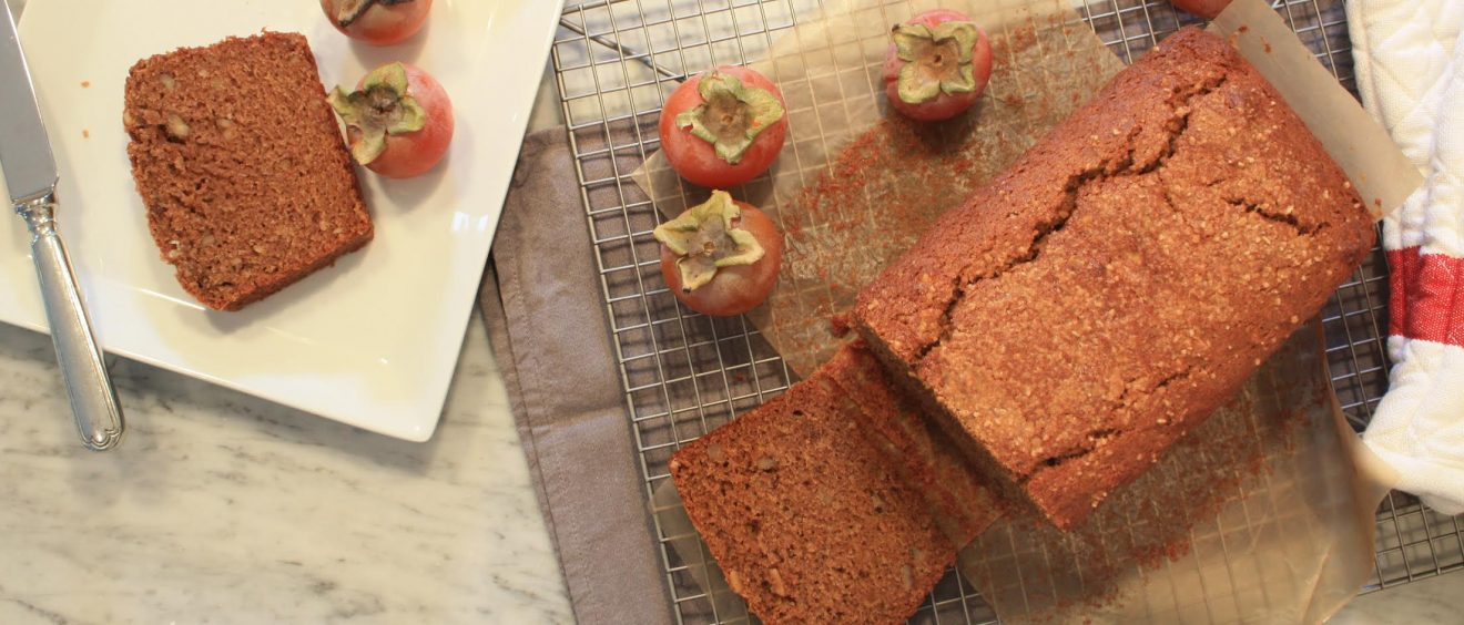 Fall Persimmon Tea Cake