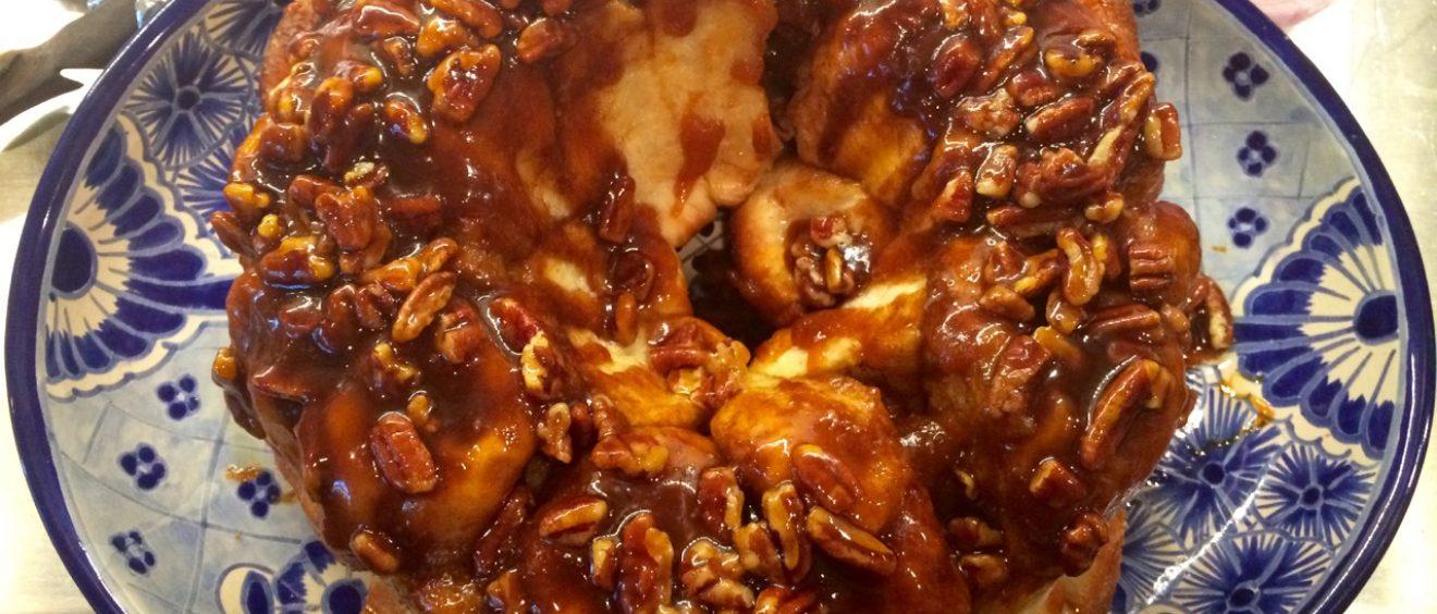 Overnight Butterscotch Pecan Rolls