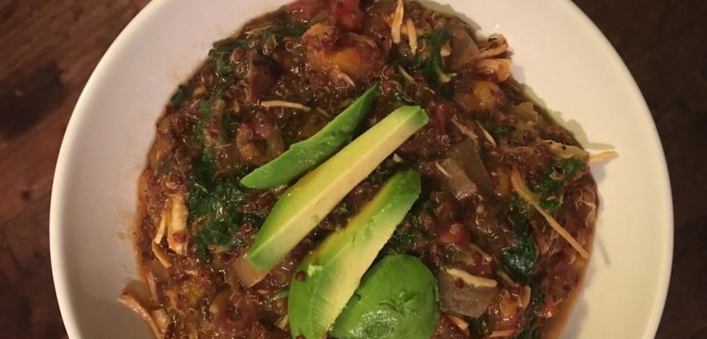 Red Quinoa Crock Pot Stew