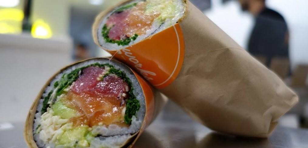 Pokeworks Sushi Burrito