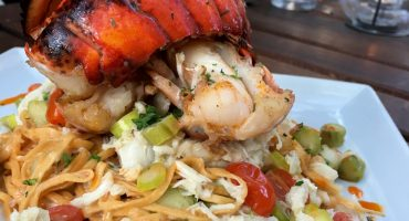 Seafood Pasta Jobell Cafe and Bistro Wimberley, Texas